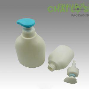 Chai dầu gội/sữa tắm trắng đục thân bầu chất lượng