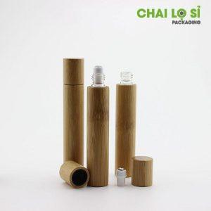 Chai đựng nước hoa mini gỗ thiên nhiên