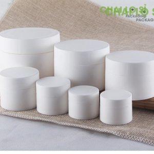 Hũ cream nhựa trắng đa dạng