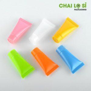 Tuýp mỹ phẩm nhựa nhiều màu 02