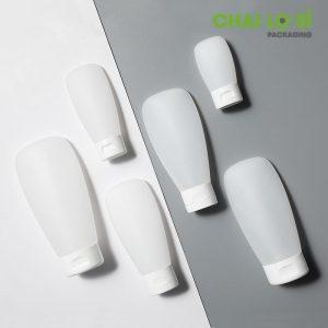 Tuýp nhựa trắng mờ