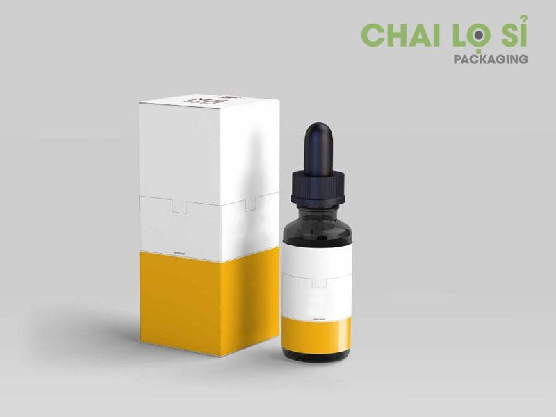 Lựa chọn dựa vào chất liệu của chai serum